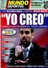 Portada Mundo Deportivo del 4 de Marzo de 2009