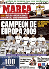 Portada diario Marca del 5 de Marzo de 2009