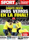 Portada diario Sport del 5 de Marzo de 2009