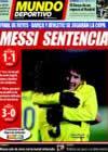 Portada Mundo Deportivo del 5 de Marzo de 2009