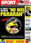 Portada diario Sport del 6 de Marzo de 2009
