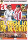 Portada diario AS del 7 de Marzo de 2009