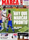 Portada diario Marca del 7 de Marzo de 2009