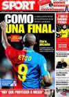 Portada diario Sport del 7 de Marzo de 2009