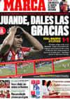 Portada diario Marca del 8 de Marzo de 2009