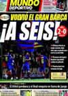 Portada Mundo Deportivo del 8 de Marzo de 2009