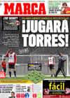 Portada diario Marca del 9 de Marzo de 2009