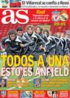 Portada diario AS del 10 de Marzo de 2009