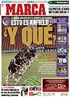 Portada diario Marca del 10 de Marzo de 2009