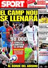 Portada diario Sport del 10 de Marzo de 2009