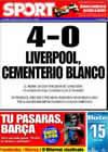Portada diario Sport del 11 de Marzo de 2009