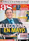 Portada diario AS del 12 de Marzo de 2009