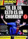 Portada Mundo Deportivo del 12 de Marzo de 2009