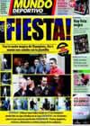 Portada Mundo Deportivo del 13 de Marzo de 2009