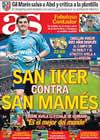 Portada diario AS del 14 de Marzo de 2009
