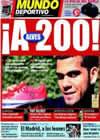 Portada Mundo Deportivo del 14 de Marzo de 2009