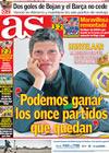Portada diario AS del 16 de Marzo de 2009
