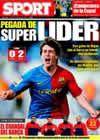 Portada diario Sport del 16 de Marzo de 2009