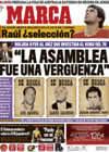 Portada diario Marca del 17 de Marzo de 2009