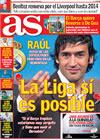 Portada diario AS del 19 de Marzo de 2009