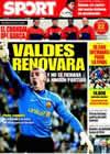 Portada diario Sport del 19 de Marzo de 2009