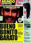 Portada Mundo Deportivo del 19 de Marzo de 2009