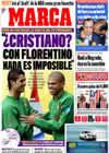 Portada diario Marca del 20 de Marzo de 2009