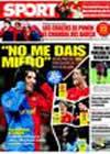 Portada diario Sport del 20 de Marzo de 2009