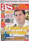 Portada diario AS del 21 de Marzo de 2009