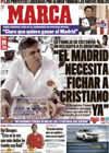 Portada diario Marca del 21 de Marzo de 2009