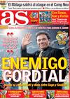 Portada diario AS del 22 de Marzo de 2009