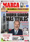 Portada diario Marca del 24 de Marzo de 2009