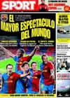 Portada Mundo Deportivo del 24 de Marzo de 2009