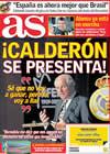 Portada diario AS del 27 de Marzo de 2009