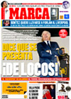 Portada diario Marca del 27 de Marzo de 2009