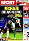 Portada diario Sport del 27 de Marzo de 2009