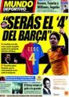 Portada Mundo Deportivo del 27 de Marzo de 2009