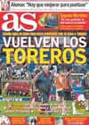 Portada diario AS del 28 de Marzo de 2009