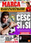 Portada diario Marca del 28 de Marzo de 2009