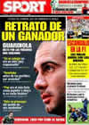 Portada diario Sport del 28 de Marzo de 2009