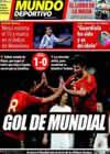 Portada Mundo Deportivo del 29 de Marzo de 2009