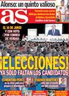 Portada diario AS del 30 de Marzo de 2009
