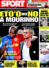 Portada diario Sport del 31 de Marzo de 2009
