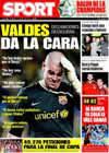 Portada diario Sport del 1 de Abril de 2009
