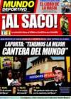 Portada Mundo Deportivo del 2 de Abril de 2009