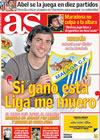 Portada diario AS del 3 de Abril de 2009