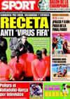 Portada diario Sport del 3 de Abril de 2009