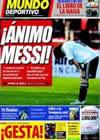 Portada Mundo Deportivo del 3 de Abril de 2009