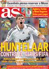 Portada diario AS del 4 de Abril de 2009
