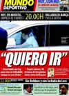 Portada Mundo Deportivo del 4 de Abril de 2009